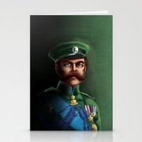 luigi Stationery Cards featuring Lieutenant Luigi by Char5vzla