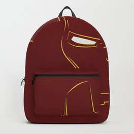 iron man face Backpack