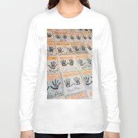 hollywood Long Sleeve T-shirts featuring Hollywood hands by Mauricio Santana