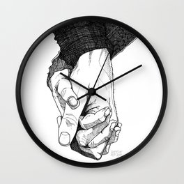 I Want To Hold Your Hand Wall Clock