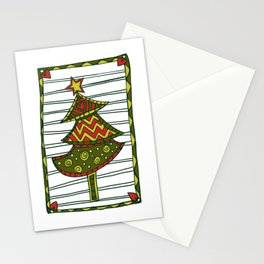 Xmas Tree, Oh Xmas Tree Stationery Cards
