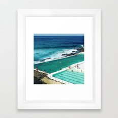 Bondi living Framed Art Print