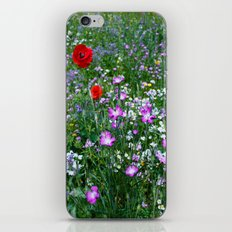 Wild Flower Meadow iPhone & iPod Skin