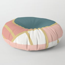 Maximalist Geometric 05 Floor Pillow