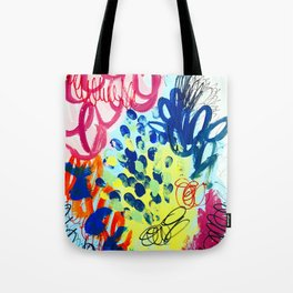 Color Chaos Tote Bag