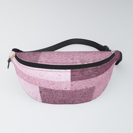 Pink Squared Fanny Pack