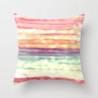 pastel Throw Pillows featuring Pastel  by WhimsyRomance&Fun