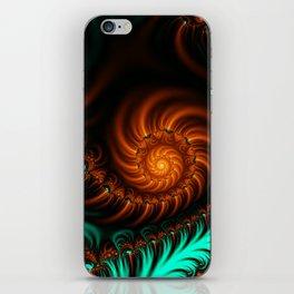 Fractal - She Sells Sea Shells iPhone Skin