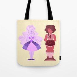 Iris and Rowena Tote Bag