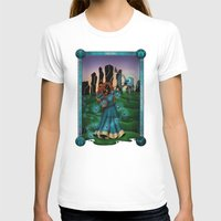 merida T-shirts featuring Silhouette Merida  by Katie Simpson a.k.a. Redhead-K