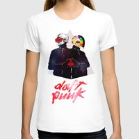 daft punk T-shirts featuring Daft Punk by omurizer