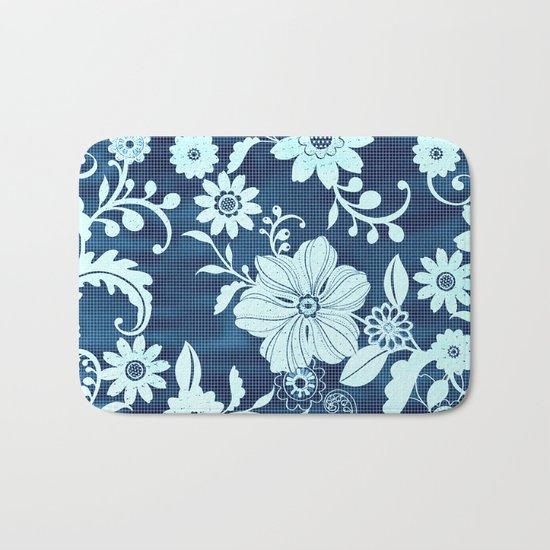 Flower time Bath Mat