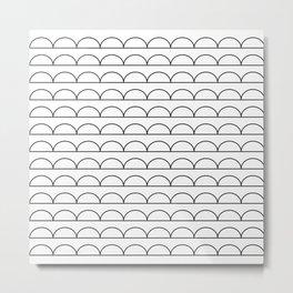 pomak (white) Metal Print