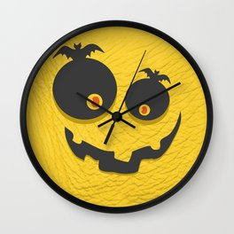 Scary Halloween Wall Clock