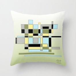 Scrabble Throw Pillow