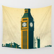 Big Ben Wall Tapestry