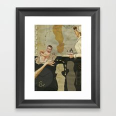 Modern Day Practice Framed Art Print