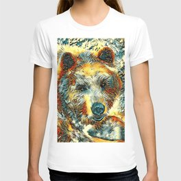 AnimalArt_Bear_20170604_by_JAMColorsSpecial T-shirt