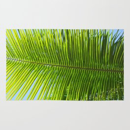 A single palm branch Rug
