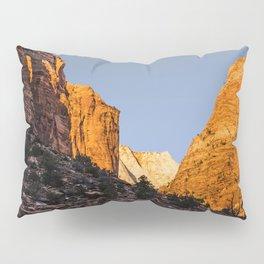 WINTER LIGHT ON ZION Pillow Sham