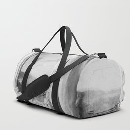 I am a visitor - A window in Tuscany Duffle Bag