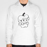 apple Hoodies featuring Apple by Brittney Patterson