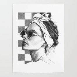Summer in Paris Poster