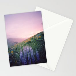 Wild Flowers in the Big Horn Mountains Stationery Cards