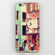 Ernest Tube Record Shop iPhone & iPod Skin