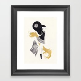 -R- Framed Art Print