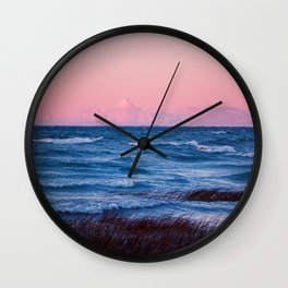 The Sun Was Red Wall Clock