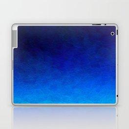 Cyan Circular Laptop & iPad Skin