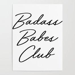 Badass Babes Club 2 Poster