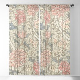 """William Morris """"Cray"""" 1. Sheer Curtain"""