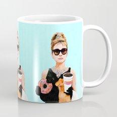 Breakfast at Dunkin Donuts - Audrey Hepburn Mug