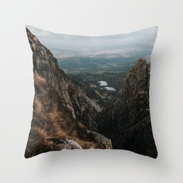 Giant Mountains - Landscape and Nature Photography Throw Pillow