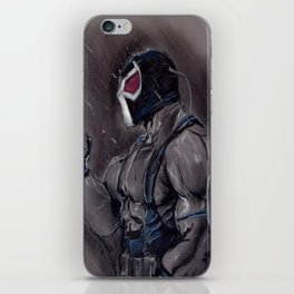 The Man who Boke the Bat! iPhone Skin