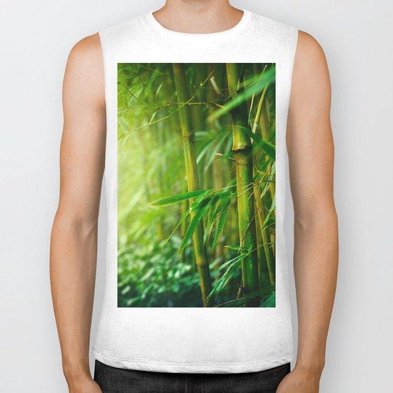 Bamboo Jungle Biker Tank