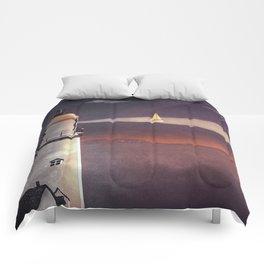 Sea of Light Comforters
