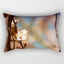 Pink Bloom Rectangular Pillow