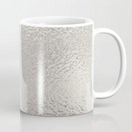 Simply Metallic in Silver Coffee Mug