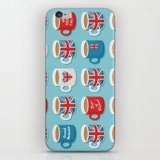 A Very British Brew iPhone & iPod Skin