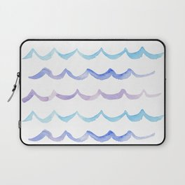 Life is Swell - Ombre Waves Laptop Sleeve