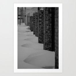 It's Brick Art Print