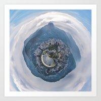 Polar Pan Rio de Janeiro Art Print