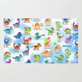 Chibidinos Watercolors Summer 2018 Rug