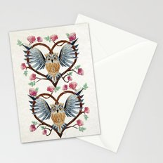 lovely owl Stationery Cards
