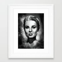 grace Framed Art Prints featuring Grace by Lily Fitch
