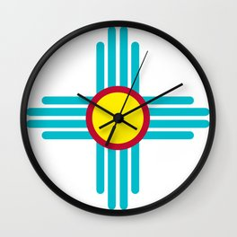 Zia Sun Wall Clock