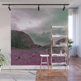 Pink Norway - Norwegian Lapponian Gate Wall Mural